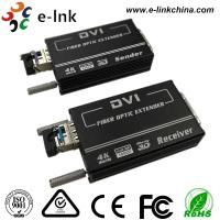 Wholesale 4K * 2K DVI Video To Fiber Converter SM10-80KM Default 1.4km EDID Support 1 SFP Port from china suppliers