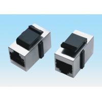 Wholesale Shielded Strap Clasp RJ45 Jack Connector Component Direct Two - Port Module from china suppliers