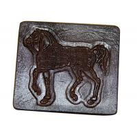 Wholesale Embossed Jeans Leather Patches , Personalized Clothing Labels from china suppliers