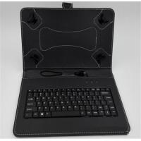 Wholesale Four Hook 7 Inch Tablet Case With Keyboard / Black Leather Surface Tablet Cover from china suppliers
