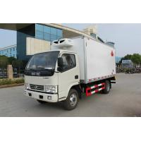 Wholesale Foton 3-5Tons 4*2 Refrigerated Van Truck For Meat / Fish Transportation from china suppliers