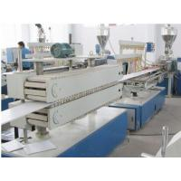 Wholesale Wooden Plastic Product Pvc Sheet Extrusion Line / Machine Fully Automatic from china suppliers