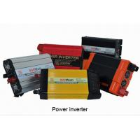 China Red car power inverter,Black and red color 500w Car power inverter on sale