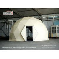 Wholesale Waterproof Luxury Hotel Resort Dome Glamping Tent Customized Color from china suppliers