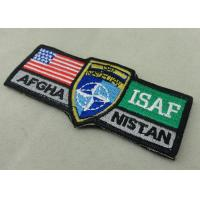 Wholesale ISAF Custom Embroidery Patches / Woven America Military Velcro Patches from china suppliers