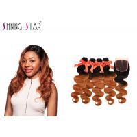 Wholesale Nonremy Body Wave Hair Extensions Human / No Tangle Natural Body Wave Weave from china suppliers