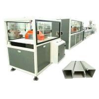Buy cheap Twin Screw Pvc Profile Extrusion Machine Electrical Cable Trunking Making from wholesalers