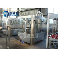 Wholesale Drink Water Beverage Filling Machine Washing , Filling And Sealing Process from china suppliers