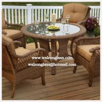 Wholesale Clear or Colored Patio Table Top from china suppliers