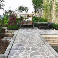 Buy cheap Irregular Patio Flagstone Crazy Paving Stone from wholesalers