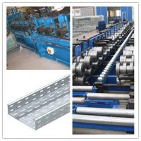 Wholesale material thickness 1.6 to 2.5mm cable tray roll forming machine drive way 1.5 inch Chain fast from china suppliers