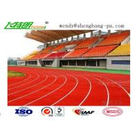 Buy cheap Anti-UV Stadium School Prefabricated Recycled Rubber Flooring For 400 Meter Standard from Wholesalers