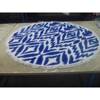 Wholesale Factory supply Cheap Price Small MOQ 100% cotton  turkish round beach towel from china suppliers