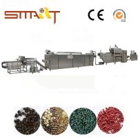 Wholesale 120-150kg / Hr Pet Food Extruder Machine Electric Power Automatic Fish Feed Machine from china suppliers