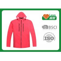 Buy cheap Womens Outdoor Jackets Windbreak , Ladies Outdoor Clothing Pink from Wholesalers
