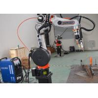 Wholesale Aluminum Arc Welding Robot Cell , Mig Welding Equipment Workstation from china suppliers