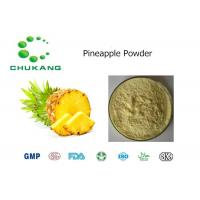 Wholesale Food Ingredients Pineapple Powder Ananas Comosus L Merr Pineapple Herbal Extrct from china suppliers