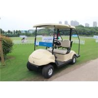 Electronic Two Seat Golf Carts , Club Car Electric Golf Cart With Curtis Controller