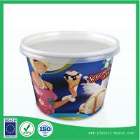 Wholesale yogurt or ice cream paper cup 300 ml with lids supplier from china suppliers