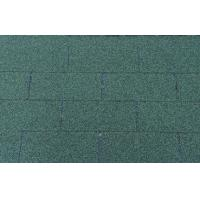 Wholesale House Fiberglass 3-Tab Asphalt Shingles , green / red flat roof tiles from china suppliers