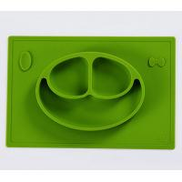 Buy cheap Baby Silicone Placemat Tray Of Feeding Food Mealtime With Infants And Toddlers from Wholesalers