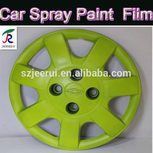 Wholesale 400ml/auto rubber spray paint/removable plasti dip/orange black green orange blue red/liquid aerosol flexible car paint from china suppliers