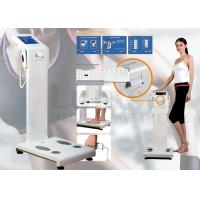China Two Frequency Body Composition Analyzer Fat Analysis Machine With Computer Software And Thermal Printer Inside on sale