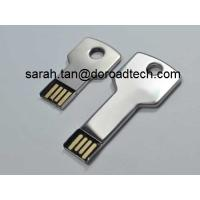 Wholesale Metal Key Shaped USB Flash Disk, 100% True Capacity High Quality USB Flash Drives from china suppliers