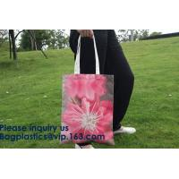 Wholesale Full Color Custom Printed Canvas Handled Cotton Shopping Tote Bags,Factory Supply Unique Design Handled Eco Shopping Cot from china suppliers