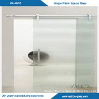 Buy cheap 4mm/5mm/6mm Silk Screen Printing Glass for Tempered Glass Door from wholesalers