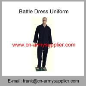 Wholesale Cheap China Army Navy Blue Military BDU Battle Dress Uniform