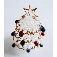 China Art Glass Xmas Tree , Hand Blown Glass Christmas Ornaments For Decorative on sale