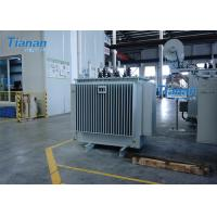 China S11 Power Oil Immersed Power Transformer 3 Phase Core Type Transformer on sale
