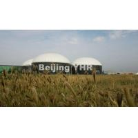Wholesale White Biogas Storage Tank For Corn Straw / Cow Dung / Chicken Manure from china suppliers