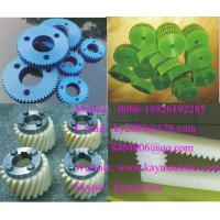 China Engineering Plastics Herringbone gears Worm wheel Spur gear for paper converting on sale