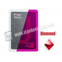 Wholesale Gambling Cheating Plastic Pokerstars Invisible Ink Marked Playing Cards For Poker Analyzers from china suppliers