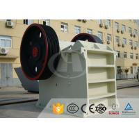 Wholesale AC Motor Jaw Crusher Equipment PE-400×600 For Steel Mills , Power Plants from china suppliers