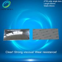 Wholesale Fresnel mirror lenses,PMMA Plastic Fresnel Minifier Lens,Wide-angle mirror reflection,ATM wide angle lens 85X55mm from china suppliers