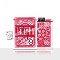 Buy cheap Paper Tally Ho Invisible Playing Cards For UV Contact Lenses Magic Tools from Wholesalers
