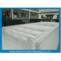 Wholesale White Color Hot Dipped Wire Mesh Fence With ISO9001 2008 Certificate from china suppliers