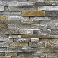 Wholesale Natural stone , Granite Stacked Stone Pink Quartzite Stone Rock Face Wall cladding from china suppliers