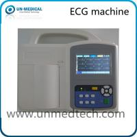 Wholesale Three Channel ECG Machine with touch screen, PC software optional from china suppliers