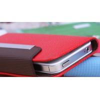 Wholesale Universal Smart Phone Wallet Case 4.3 Inch In Black / Blue / Rose Red / White / Brown from china suppliers
