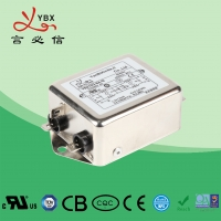 Wholesale AC DC Emi Rfi Power Line Filter Single Phase 220V 380V Metal Case from china suppliers