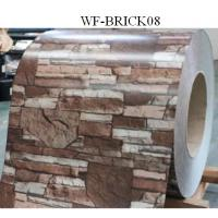 Wholesale Durable PPGI Prepainted Steel Coil With Brick Patterned For Wall Panel from china suppliers