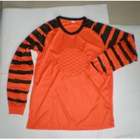 China Custom Goalkeeper Uniform Soccer Team Wear Long Sleeve Soccer Jerseys on sale