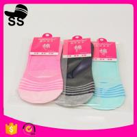 2017  Polyester  95% Spandex5% 28g 24cm Wholesale Summer Cotton Sweat-absorbent Invisible Winter Boat Socks