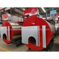 China Horizontal Natural Gas Fired Steam Boiler 1-20 Ton Per Hour For Laundry Room on sale