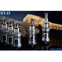 Wholesale stainless steel eGo x fire e cig Glass Tank Cartomizer EXGO dry herb wax vaporizer from china suppliers