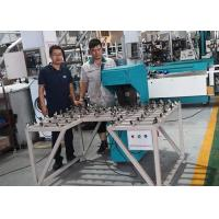 China Manual Vertical Glass Edge Grinding Machine Touch Scree Easy Maintainace on sale